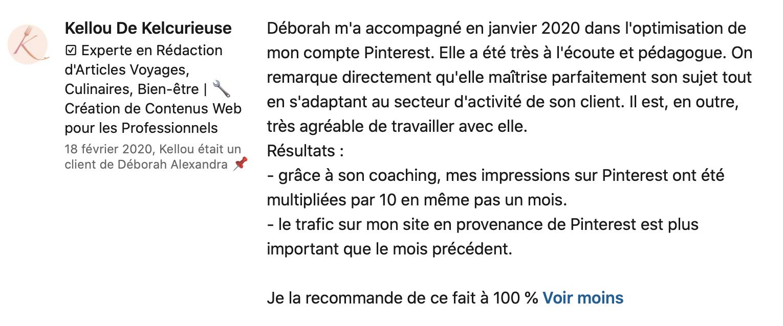 Cliente Pinterest