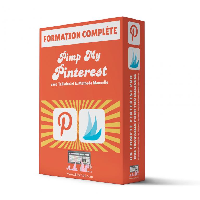 Formation Pimp My Pinterest avec Tailwind et la Méthode Manuelle