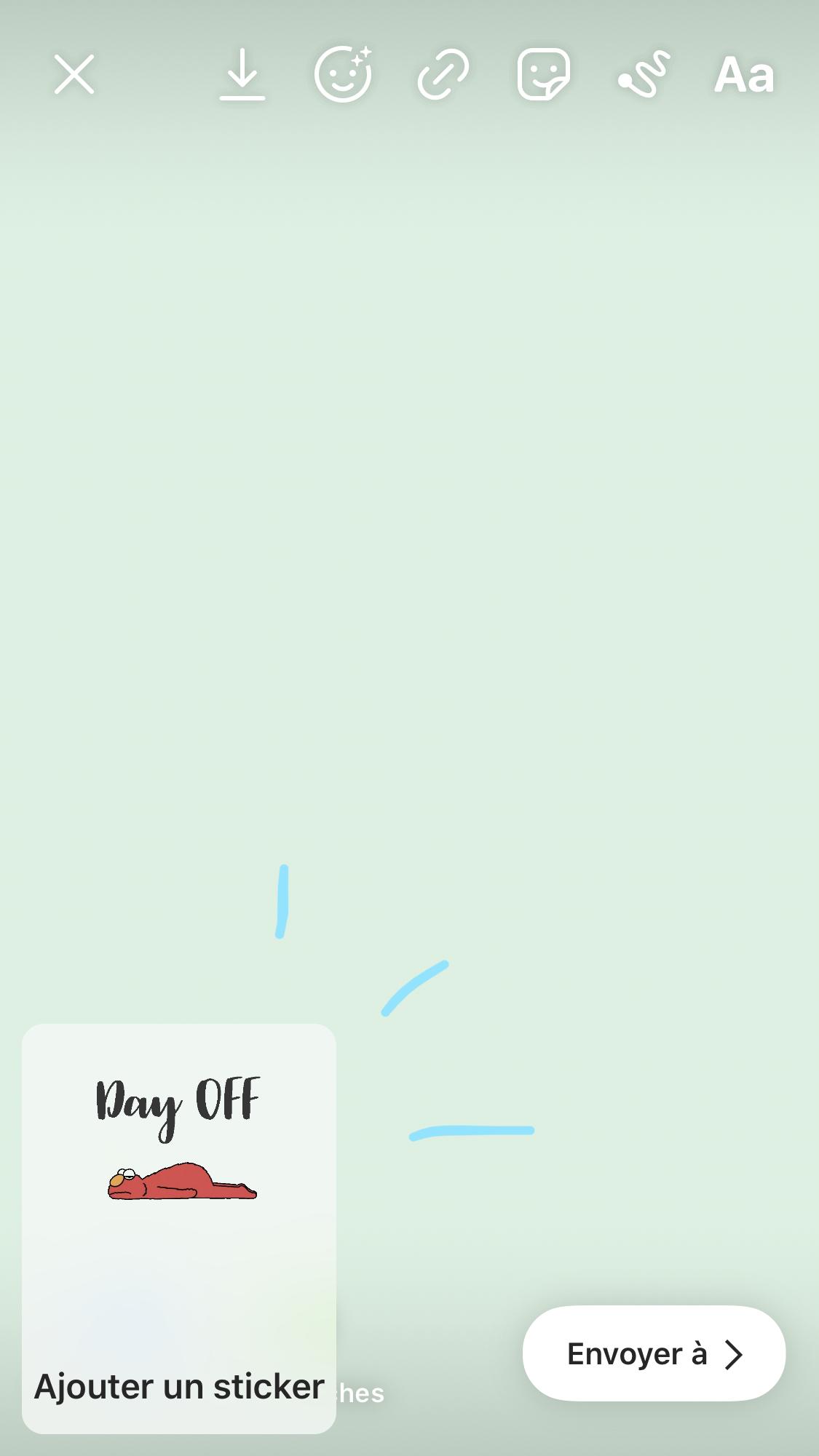 Tes stickers en story Instagram: avec ou sans compte Giphy