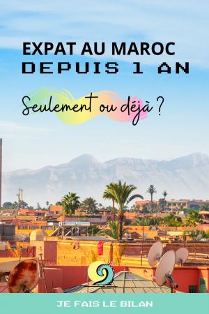 BLOG Expat au maroc depuis un an: seulement ou déjà